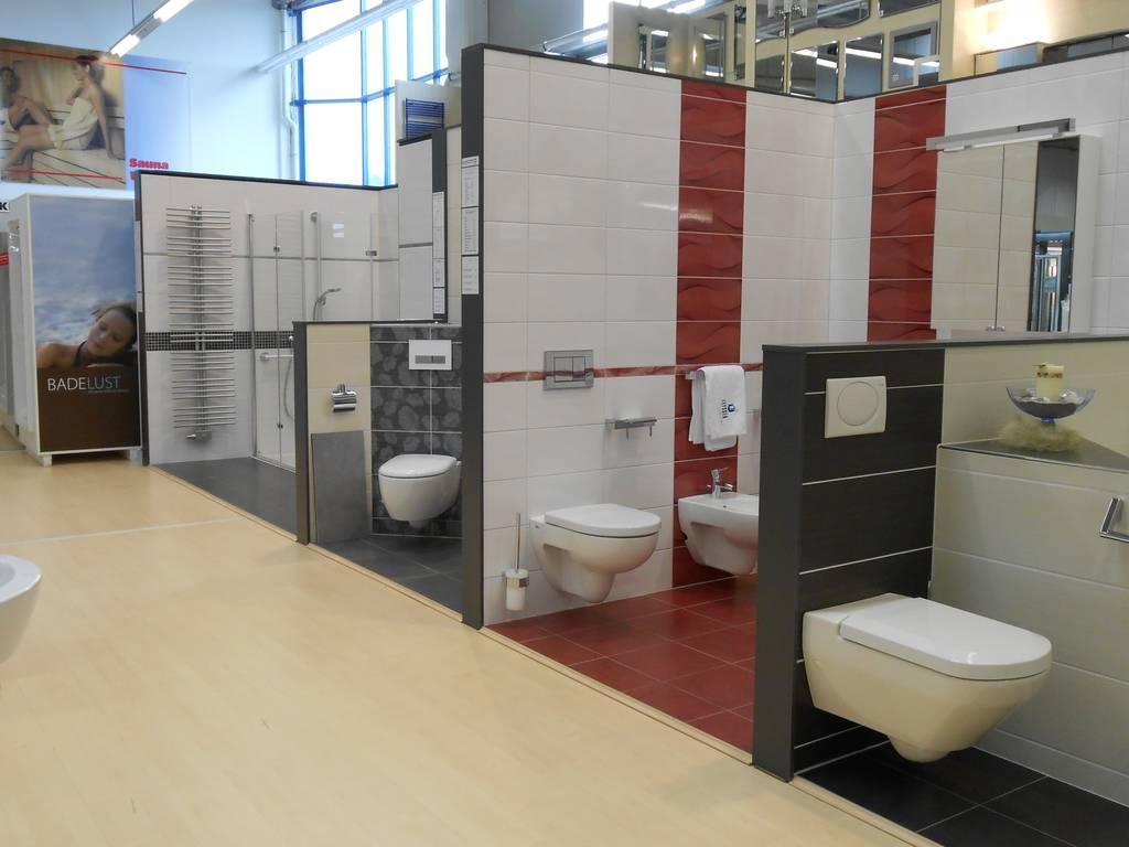sanitärausstellung  Bauzentrum LIEDER: Baumarkt